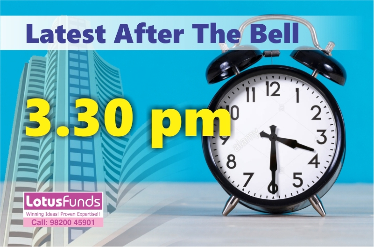 LATEST AFTER THE BELL: 30th July 2019Nifty (-103, 11085): Bloodbath continues at Dalal Street.