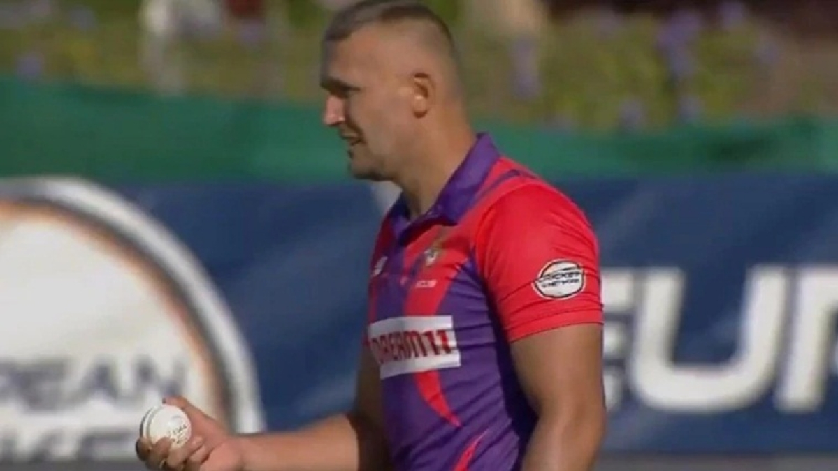 Watch: Romanian cricketer Pavel Florin's bizarre bowling action in European T10 league goes viral