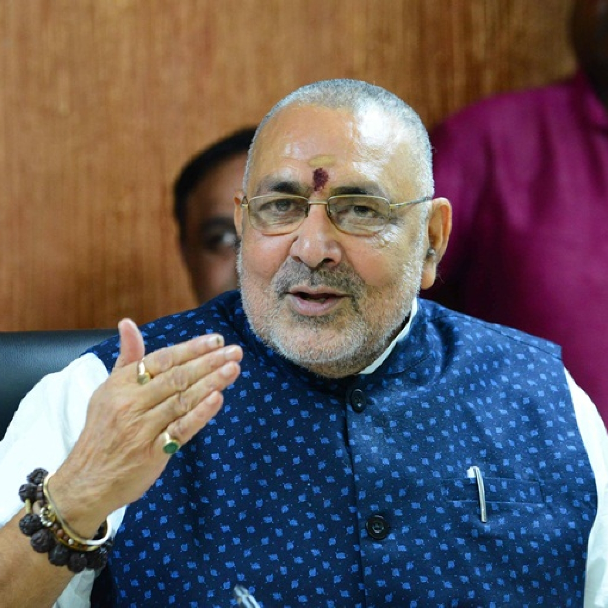 Delhi Elections 2020: AAP accuses BJP's Giriraj Singh of distributing cash and liquor a day before polls