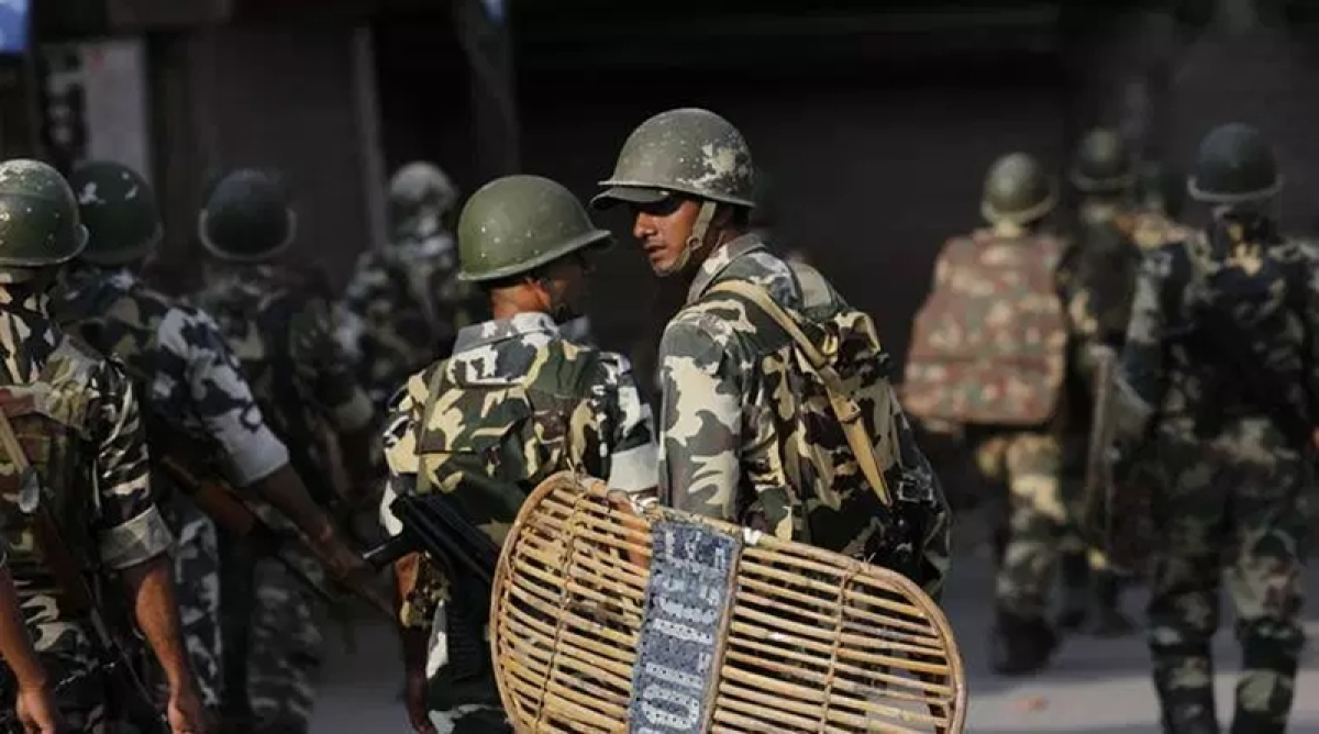 Large vacancies in paramilitary forces