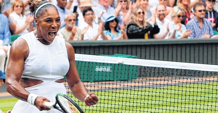 Wimbledon: Serena Williams on Song, makes 12th Wimbledon semi-final after tough duel
