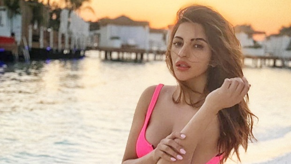Shama Sikander turns Barbie in a hot pink bikini on her recent vacay
