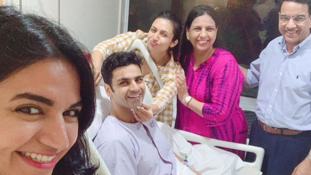 Divyanka Tripathi, Vivek Dahiya celebrates third wedding anniversary in hospital