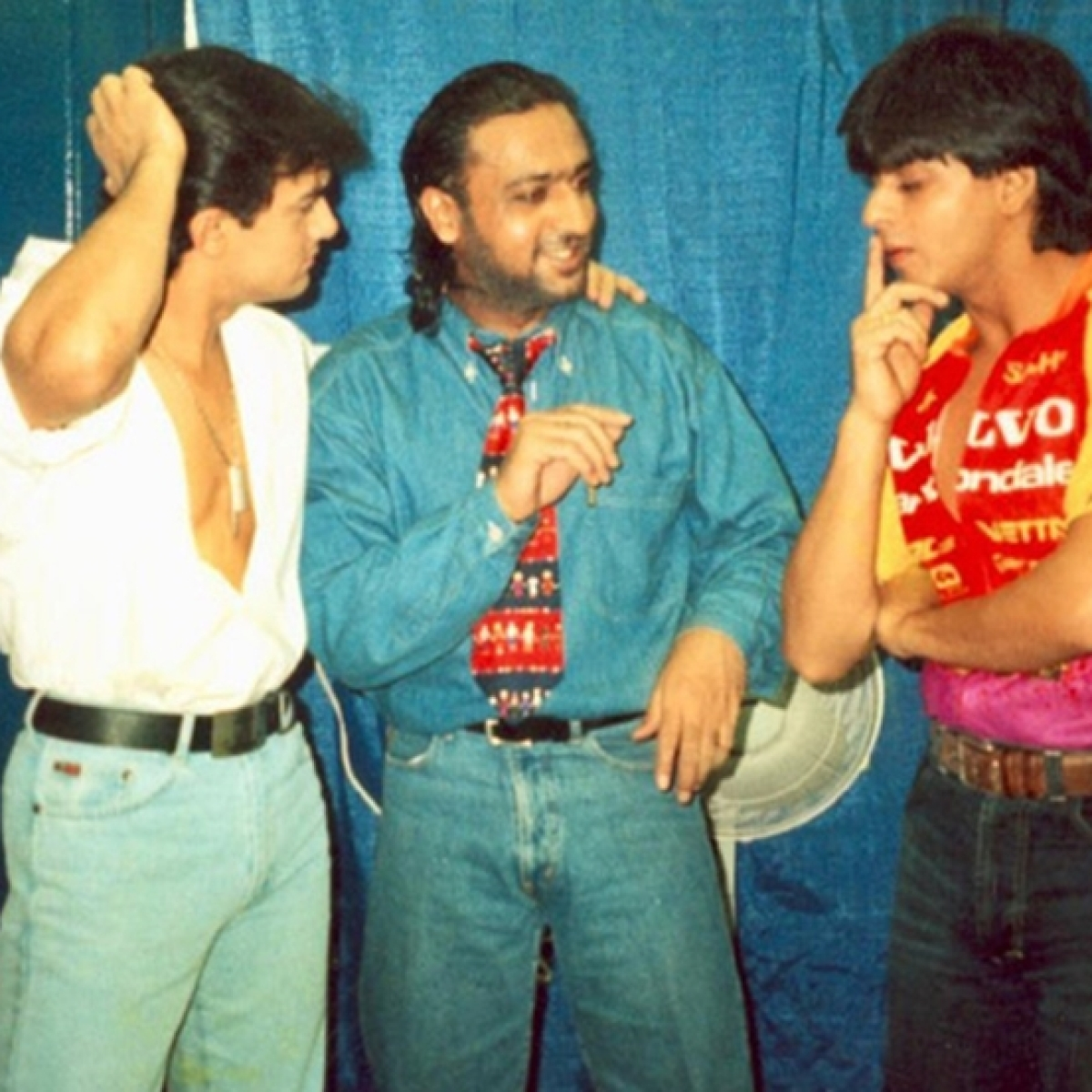 Gulshan Grover's Throwback Thursday with Shah Rukh Khan and Aamir Khan and it is sheer nostalgia
