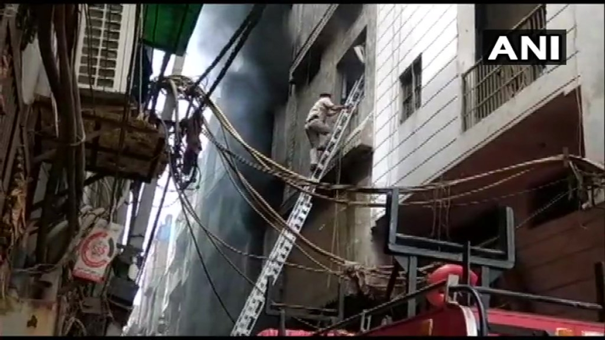 Delhi: 3 killed in hardware factory fire