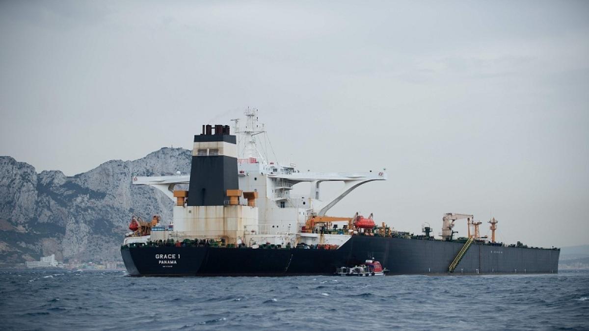 Indian captain, officer of Iranian oil tanker arrested by Gibraltar police