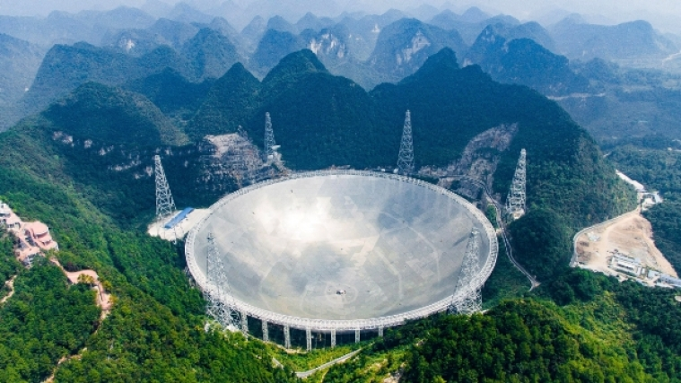 Hunting for alien life with Earth's largest telescope
