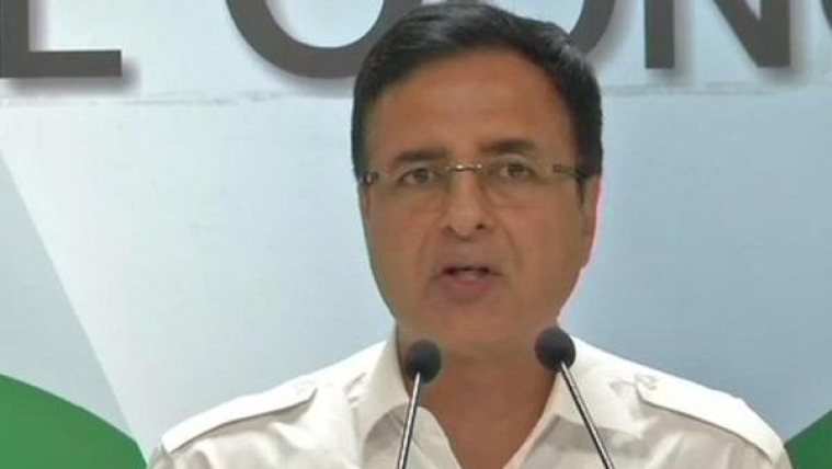 Congress media chief Randeep Singh Surjewala