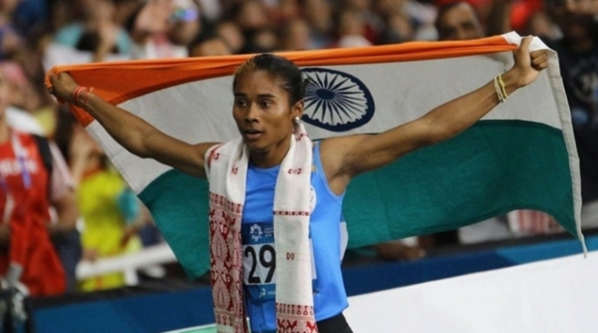 From working in rice fields to winning tracks around the globe, know Hima Das who conquered two golds in a week