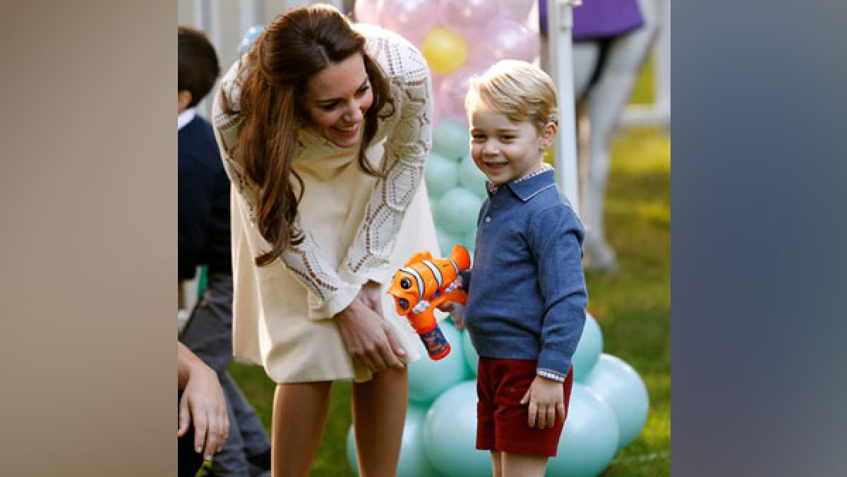 Wimbledon 2019: Kate Middleton reveals Prince George played tennis with his favourite player