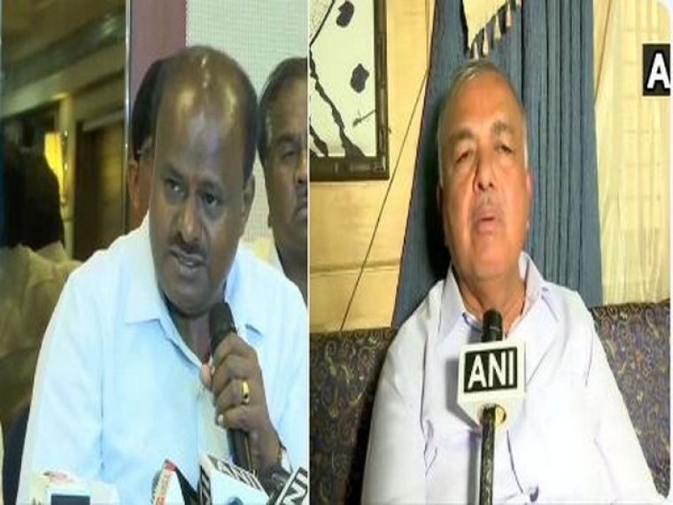 HD Kumaraswamy (L) and Ramalinga Reddy (R)