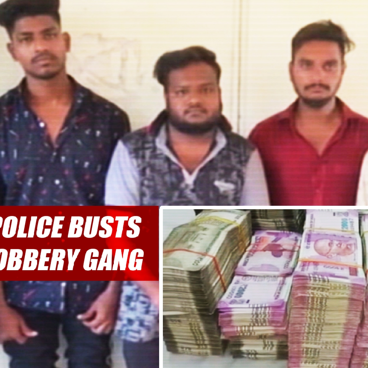 Cyberabad Police Busts Interstate Robbery Gang