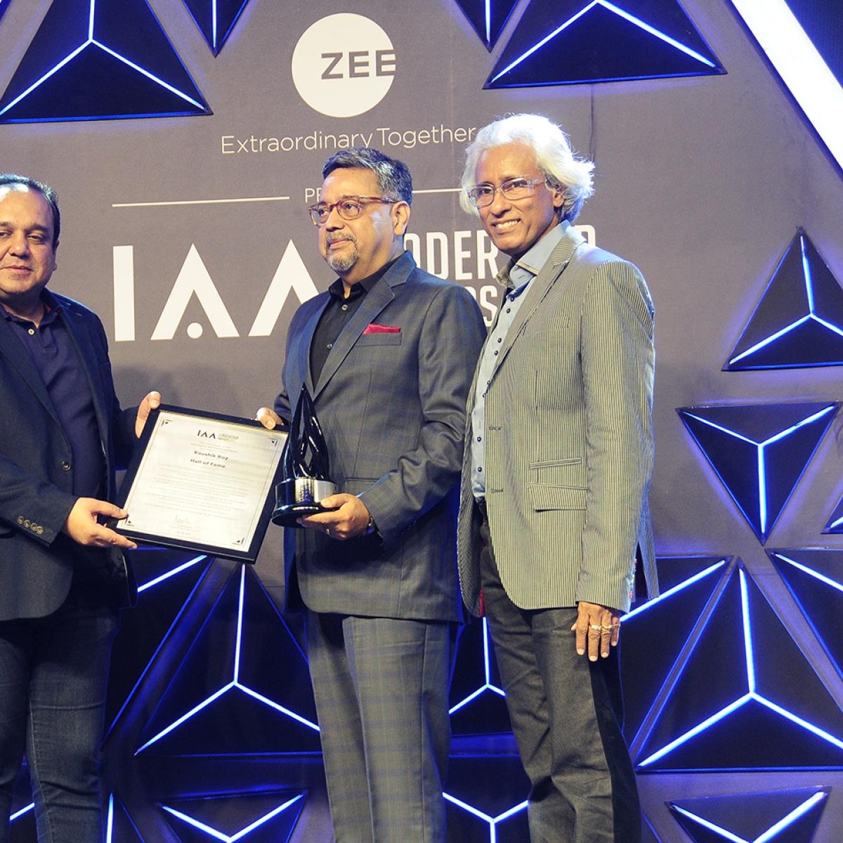 IAA Leadership Awards 2019: Kaushik Roy inducted into the IAA Hall of Fame