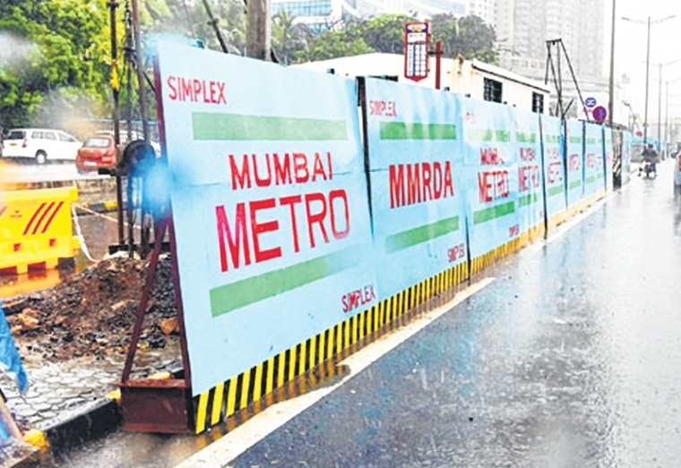 Mumbai Metropolitan Region Development Authority's tree transplantation drive