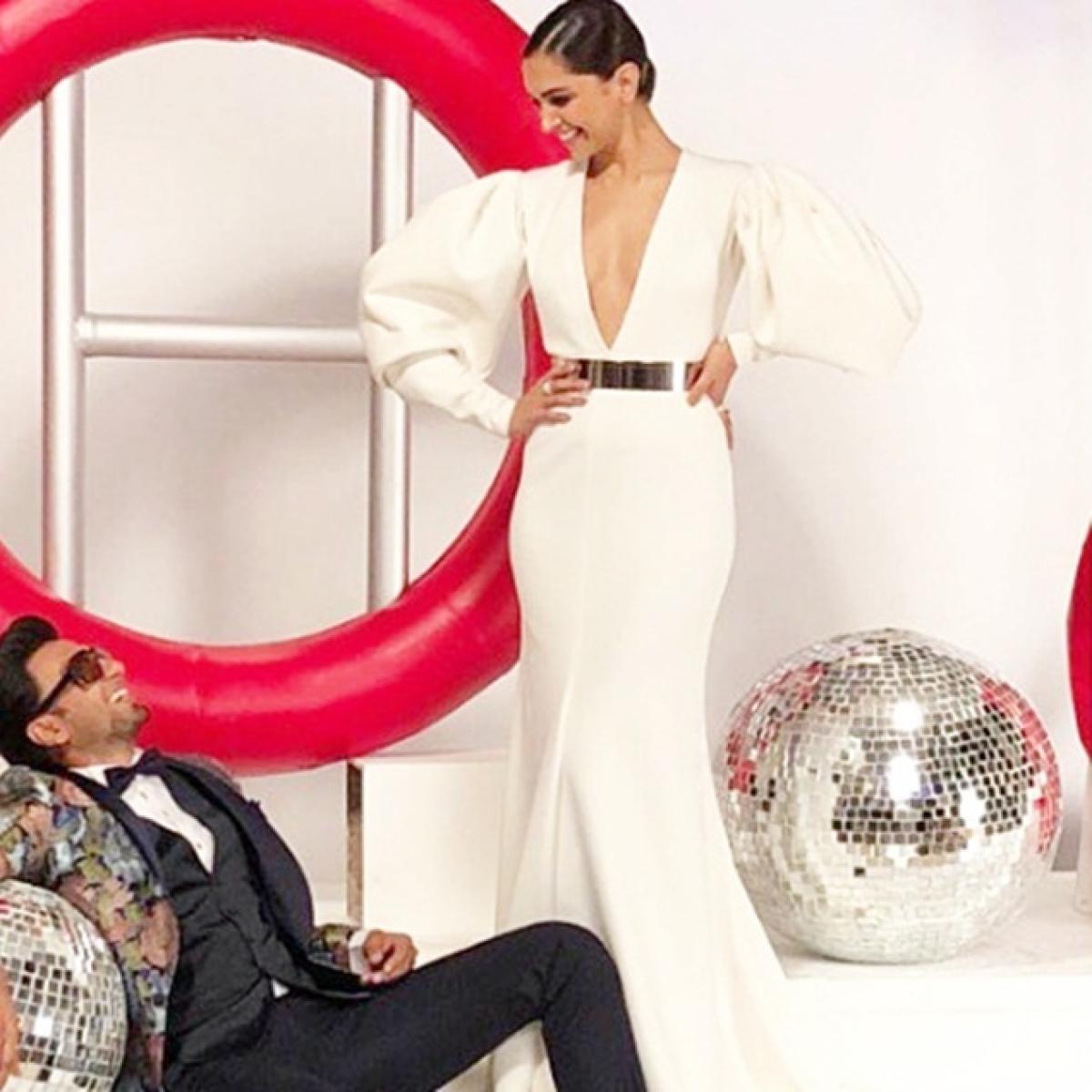Deepika Padukone shares throwback picture with Ranveer Singh