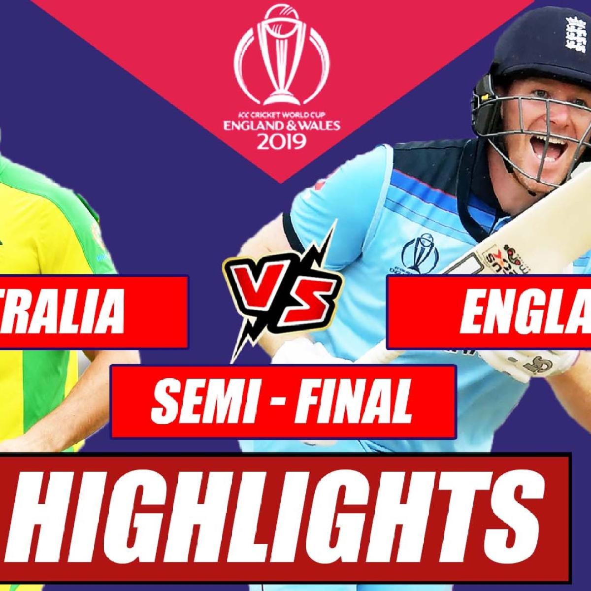 Australia vs England - Semi Final Match Highlights   England Beats Australia By 8 Wickets #CWC2019