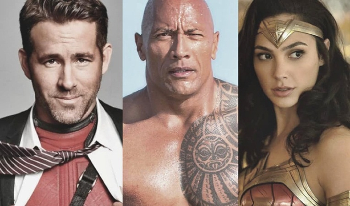 Ryan Reynolds teaming up with Gal Gadot and Dwayne Johnson for 'Red Notice'