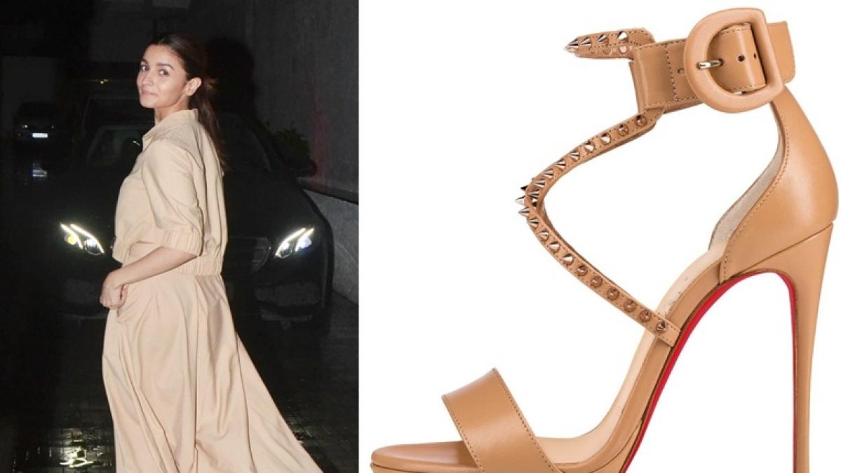 Alia Bhatt stuns in Christian Louboutin sandals worth Rs 72,000!