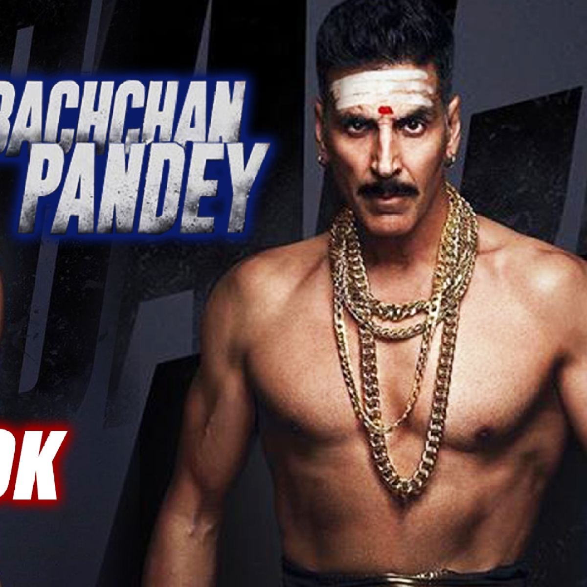 Bachchan's Pandey First Look Is Out, Akshay Kumar Dons Black Lungi And Gold Chain