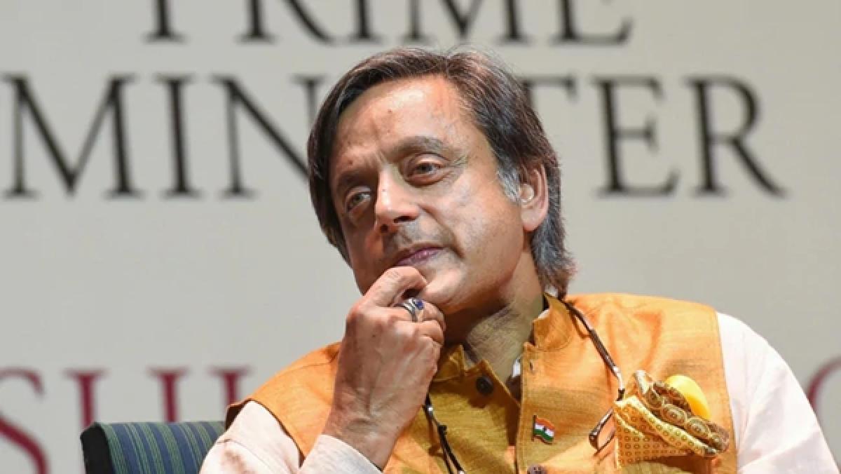 Congress leader Shashi Tharoor