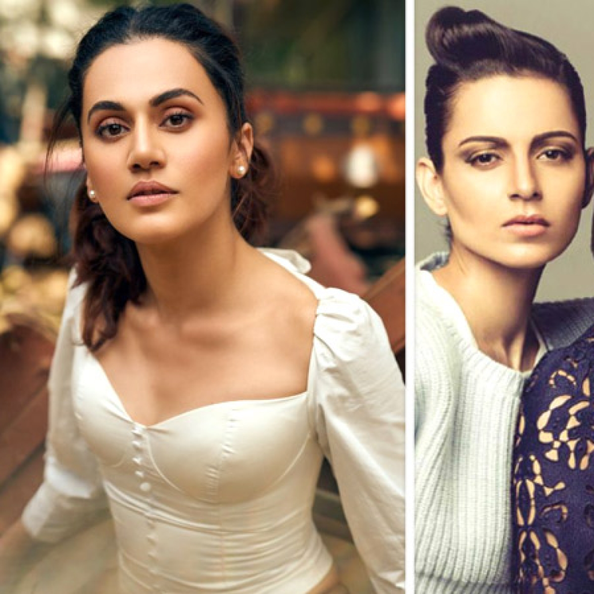 Won't be able to match up to their language: Taapsee on Kangana's sister Rangoli calling her 'sasti' copy