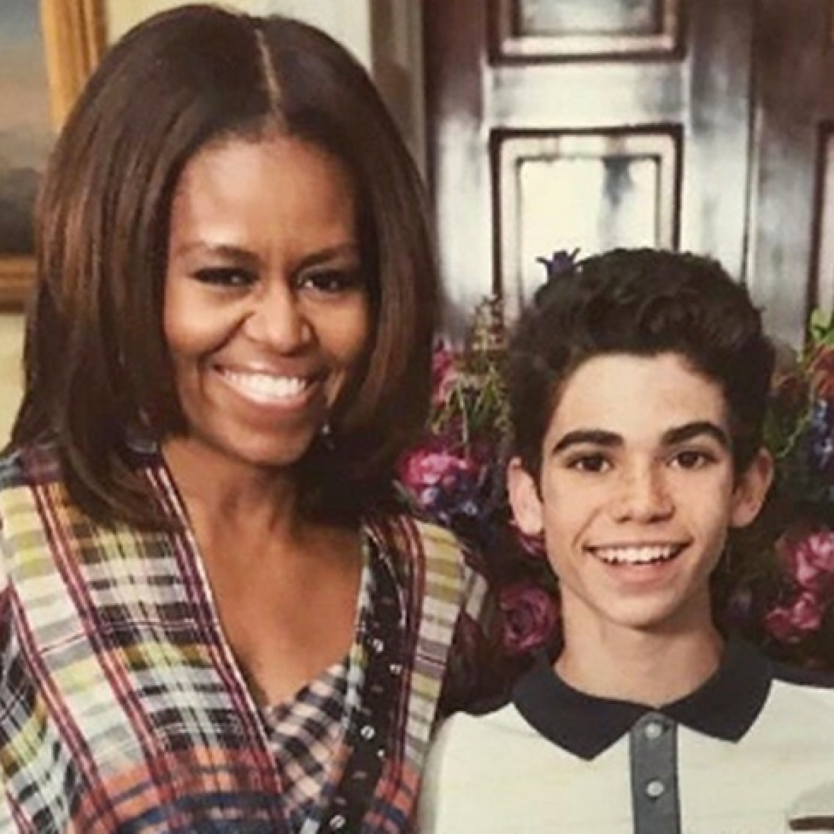 Michelle Obama remembers Cameron Boyce as having 'incredible talent'