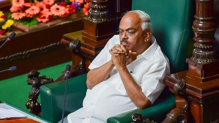 In Picture: Karnataka Speaker K R Ramesh Kumar