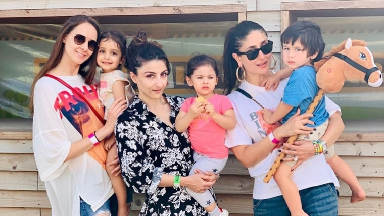 Taimur-Inaaya's day out at farm in London is spreading cuteness on Internet