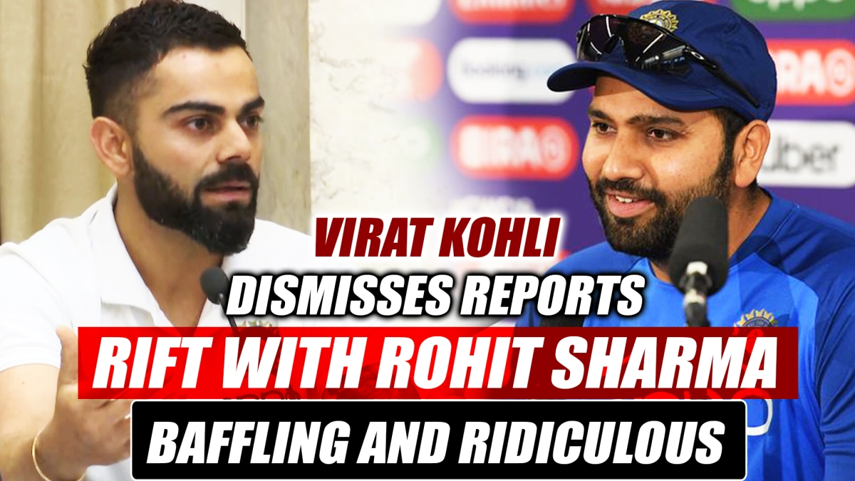 Virat Kohli Dismisses Reports Of Rift With Rohit Sharma, Calls It 'Baffling And Ridiculous'