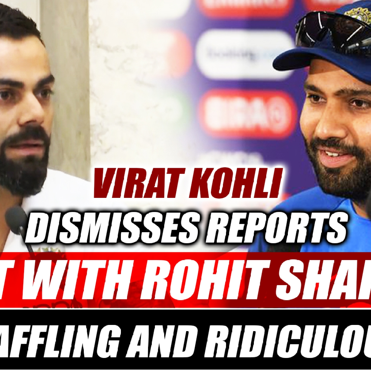 Virat Kohli Dismisses Reports Of Rift With Rohit Sharma, Calls It 'Baffling And Ridiculous'