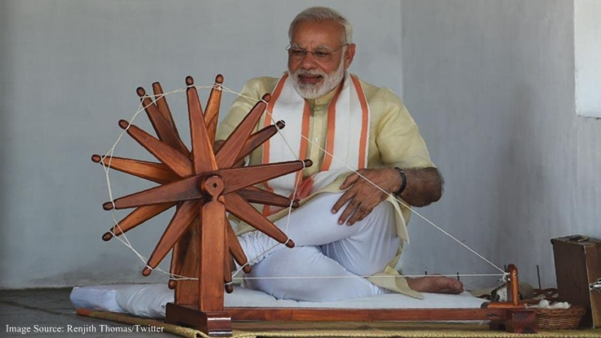 5 reasons that prove that Modi is a Gandhi believer!