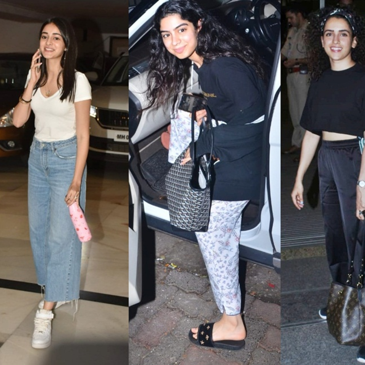 Have you seen these pictures of Ananya Panday, Khushi Kapoor and others?