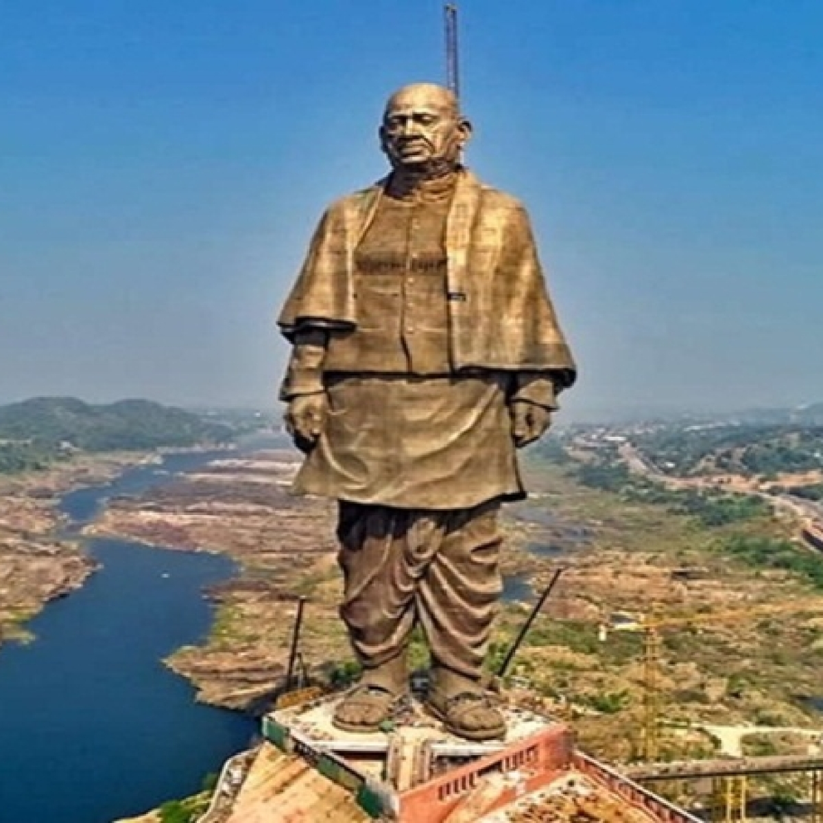 After advertisement 'selling' Statue of Unity on OLX, case registered against unknown person in Gujarat