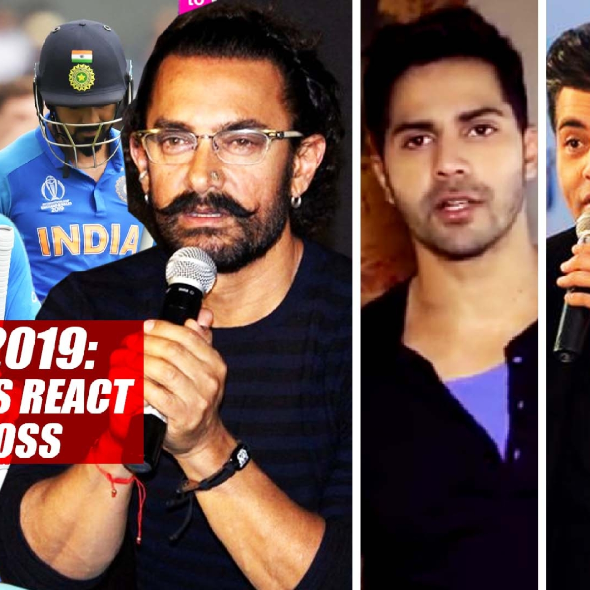 Cricket World Cup 2019: Bollywood Celebs React To Team India's Loss