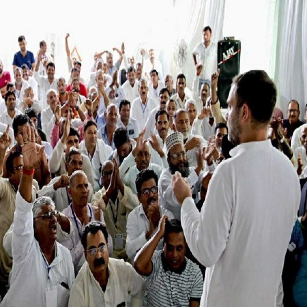 Amethi: Opposition's work 'easy, enjoyable', says Rahul Gandhi