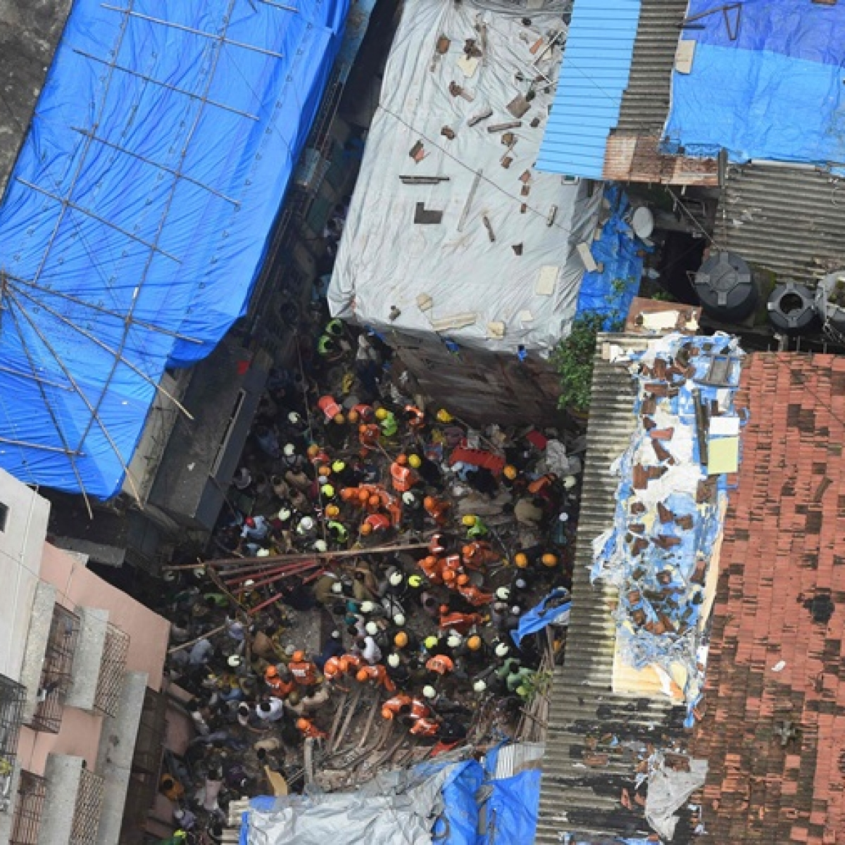 Mumbai building collapse: Dongri, the hub for illegal structures?