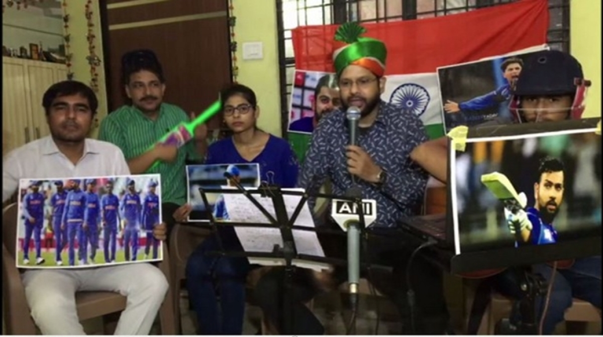 World Cup 2019: Kanpur-based band dedicates song to Men in Blue