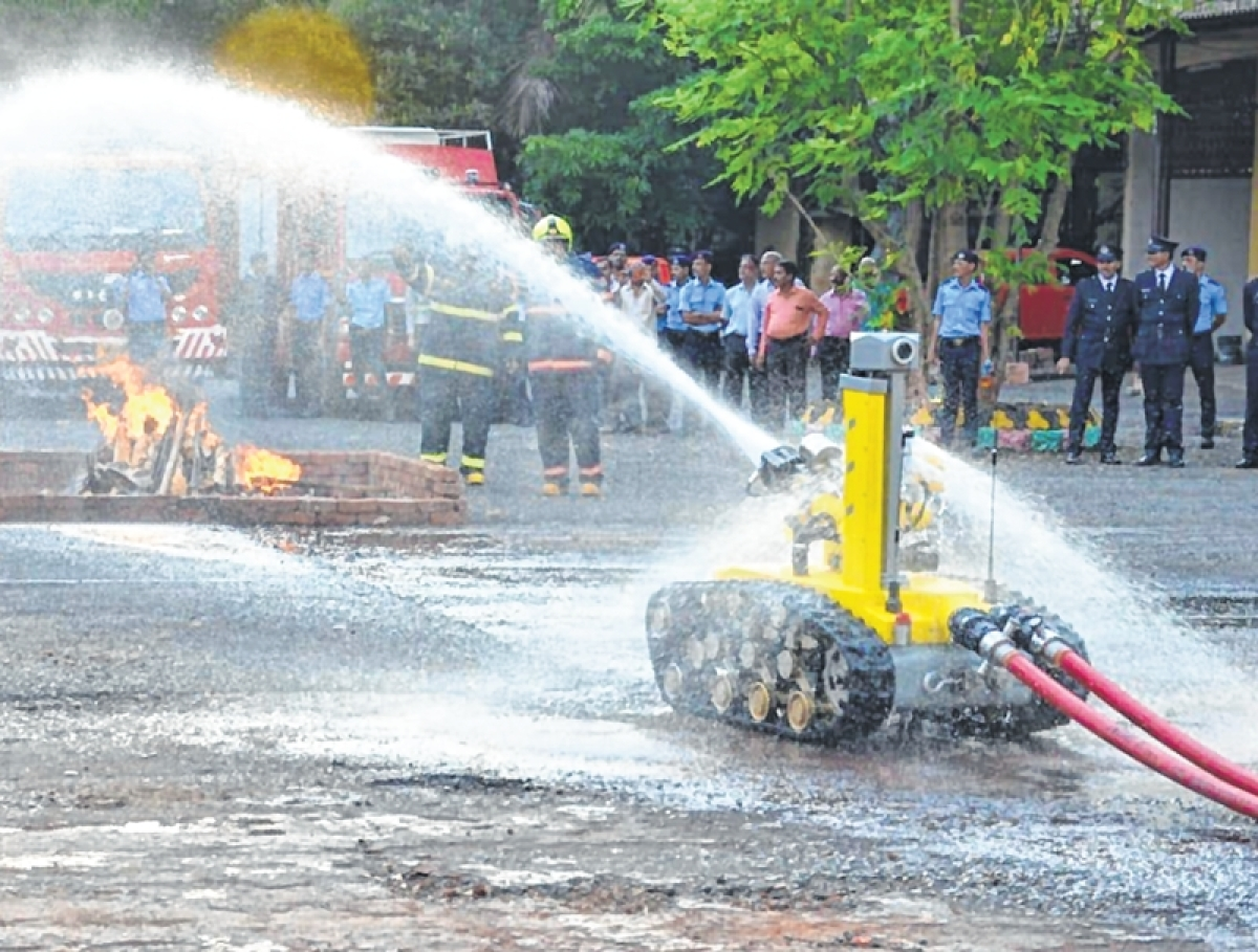 Mumbai: Soon, fire department robot will face the heat in threatening situations