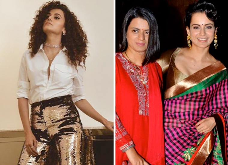 I have no time to spare: Taapsee Pannu on Rangoli Chandel calling her 'Sasti Copy'