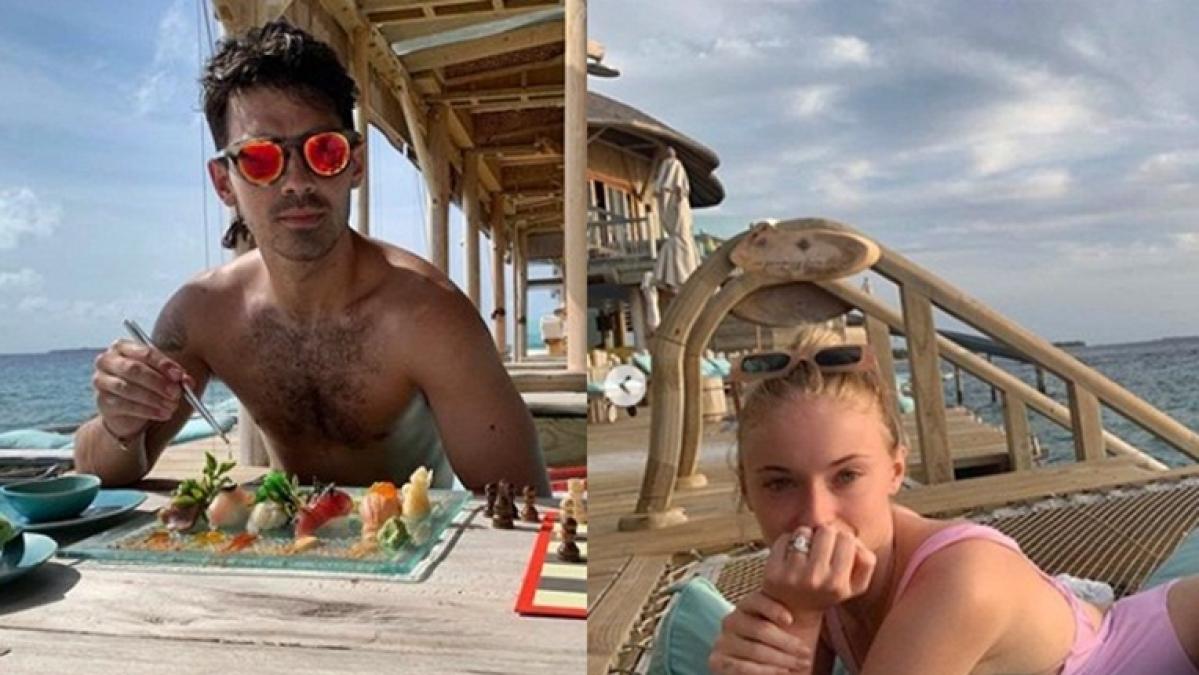 Just married Joe Jonas, Sophie Turner enjoying honeymoon in Maldives