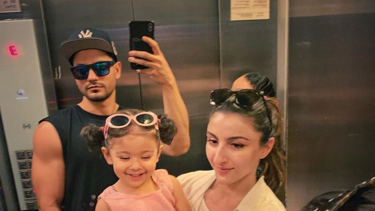 Kunal Kemmu shares a 'love and happiness' filled glimpse from the London vacation