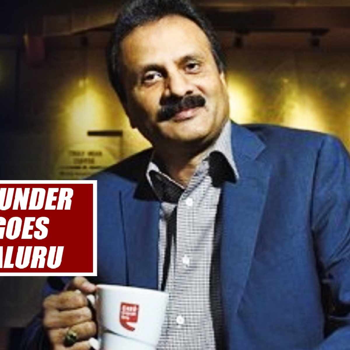 Cafe Coffee Day Founder VG Siddhartha Goes Missing In Mangaluru