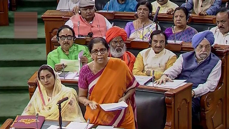 Nirmala Sitharaman seeks 'exemplary action' against Azam Khan, calls it 'utterly condemnable conduct'