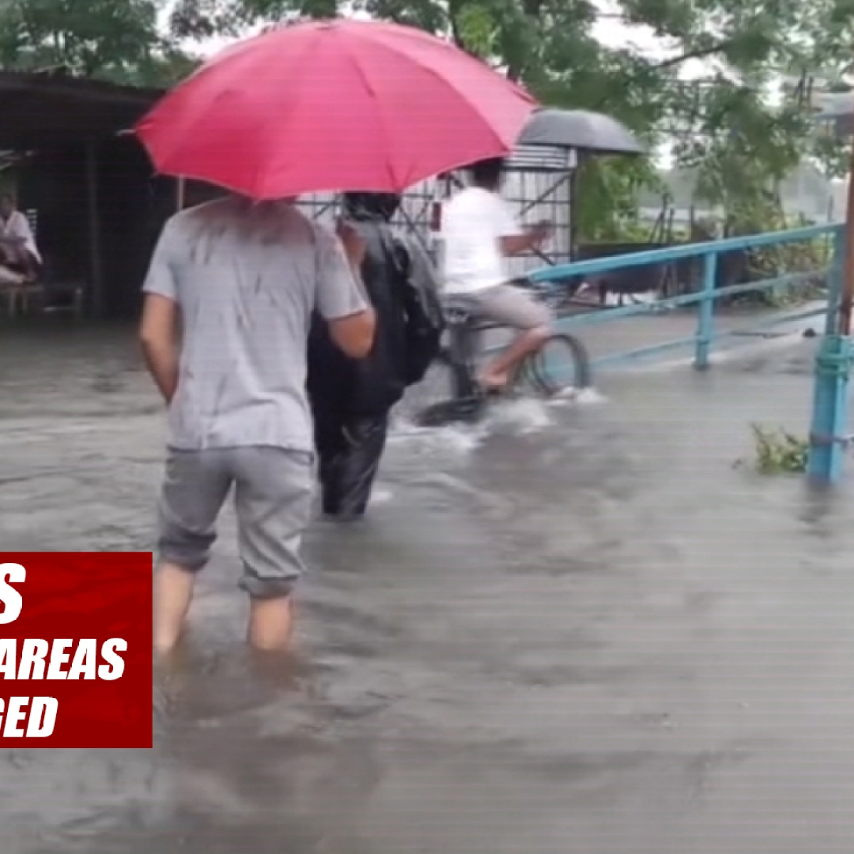 Assam floods: Locals Face Problem As Areas Of Bongaigaon Submerged
