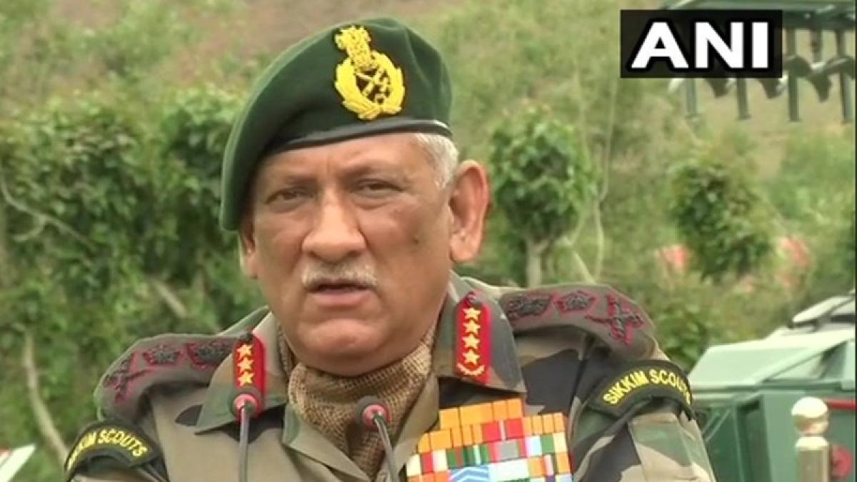 Pathankot: Army Chief Bipin Rawat meets family of Gurbachan Singh Salaria