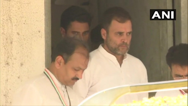 Rahul Gandhi leaves Ahmedabad Court, after he granted bail, in criminal defamation suit