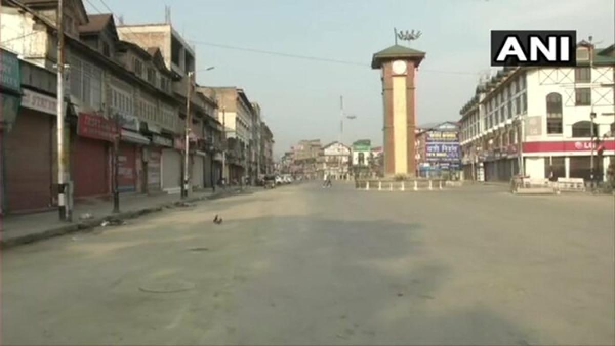 Shutdown in Srinagar on Wani's death anniversary