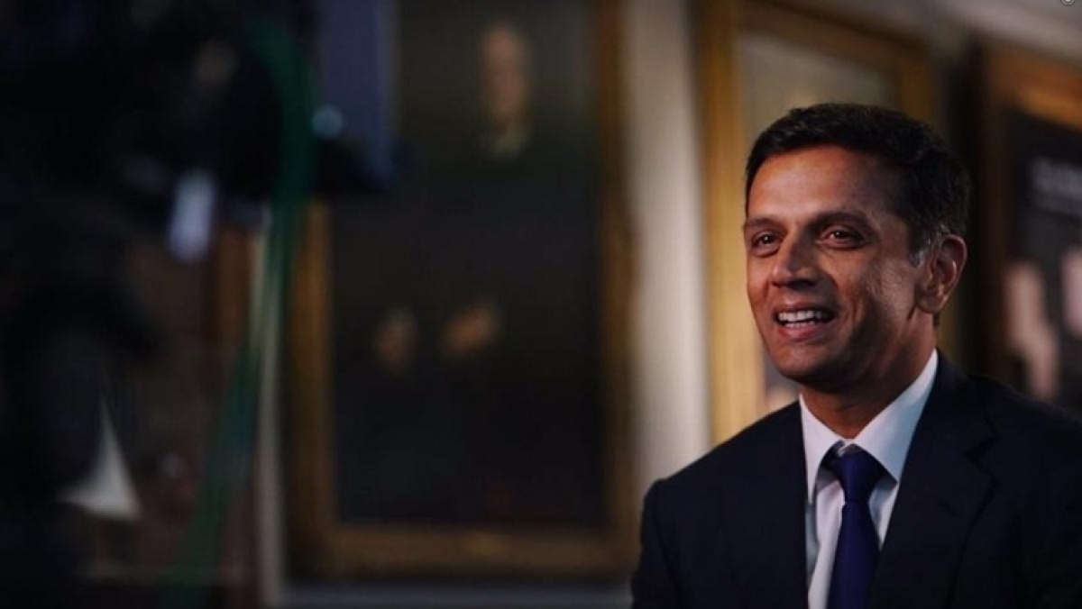 Former captain and junior India coach Rahul Dravid