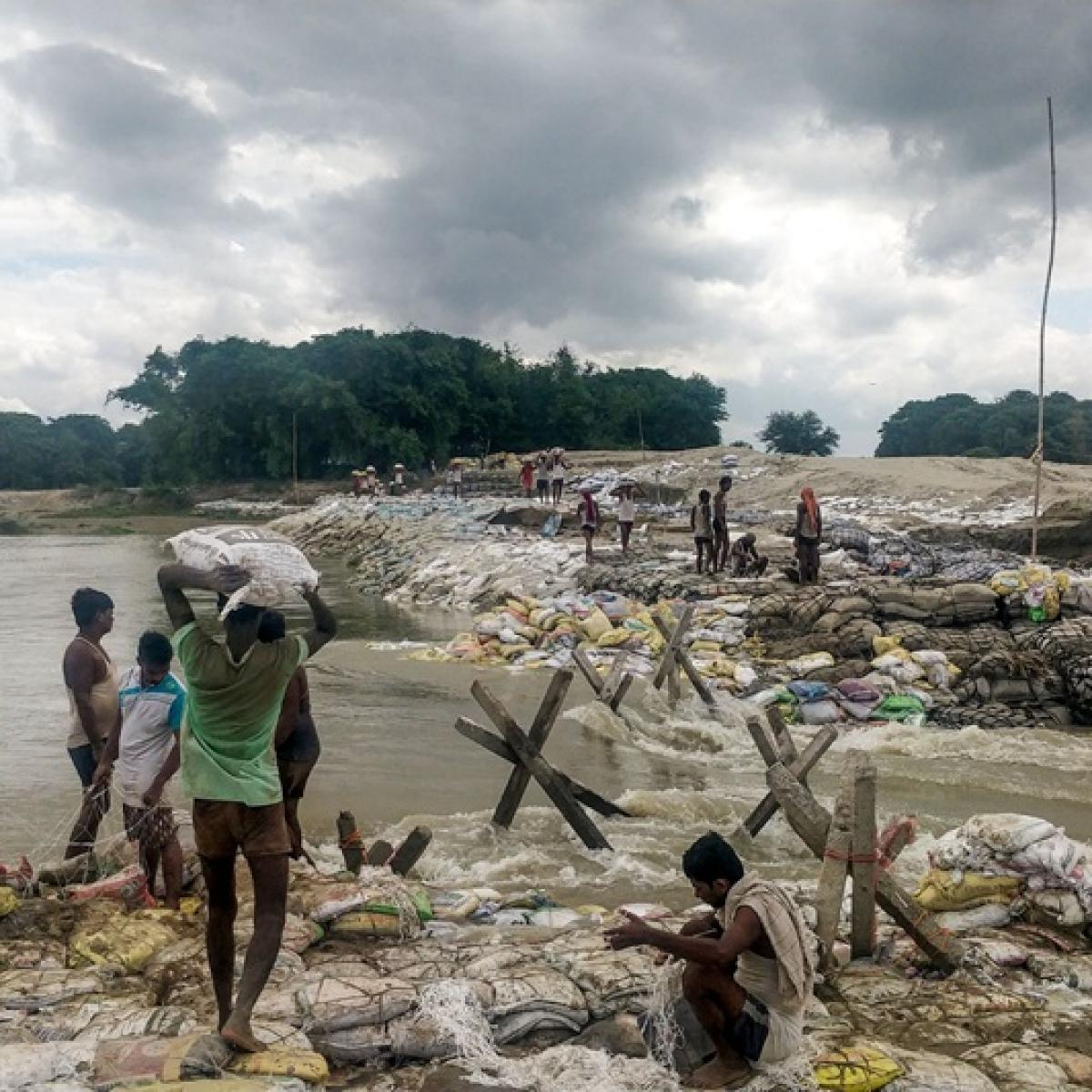 Bihar flood turns grim: 4 dead, 18 lakh hit; CM Nitish Kumar conducts aerial survey