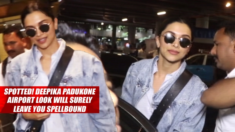 Spotted! Deepika Padukone's Airport Look Will Surely Leave You Spellbound